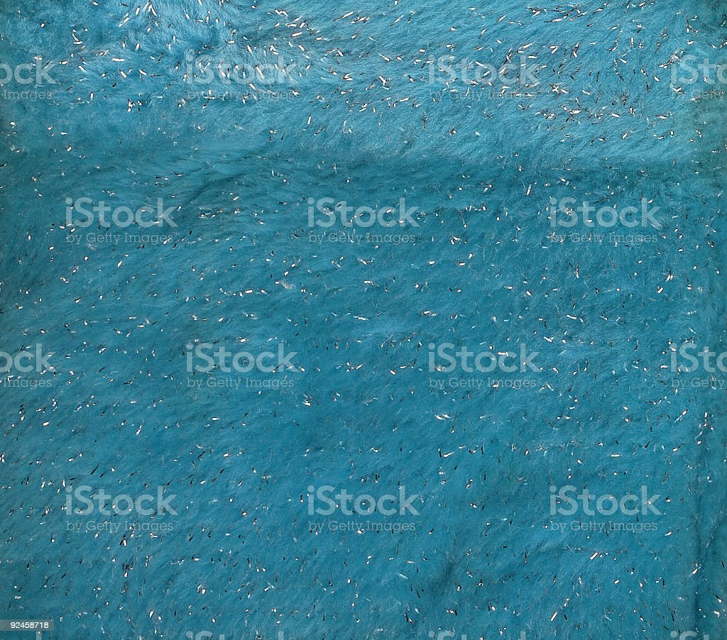 Blue & Silver Fur royalty-free stock photo