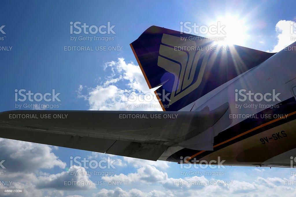 Blue Skies Ahead stock photo