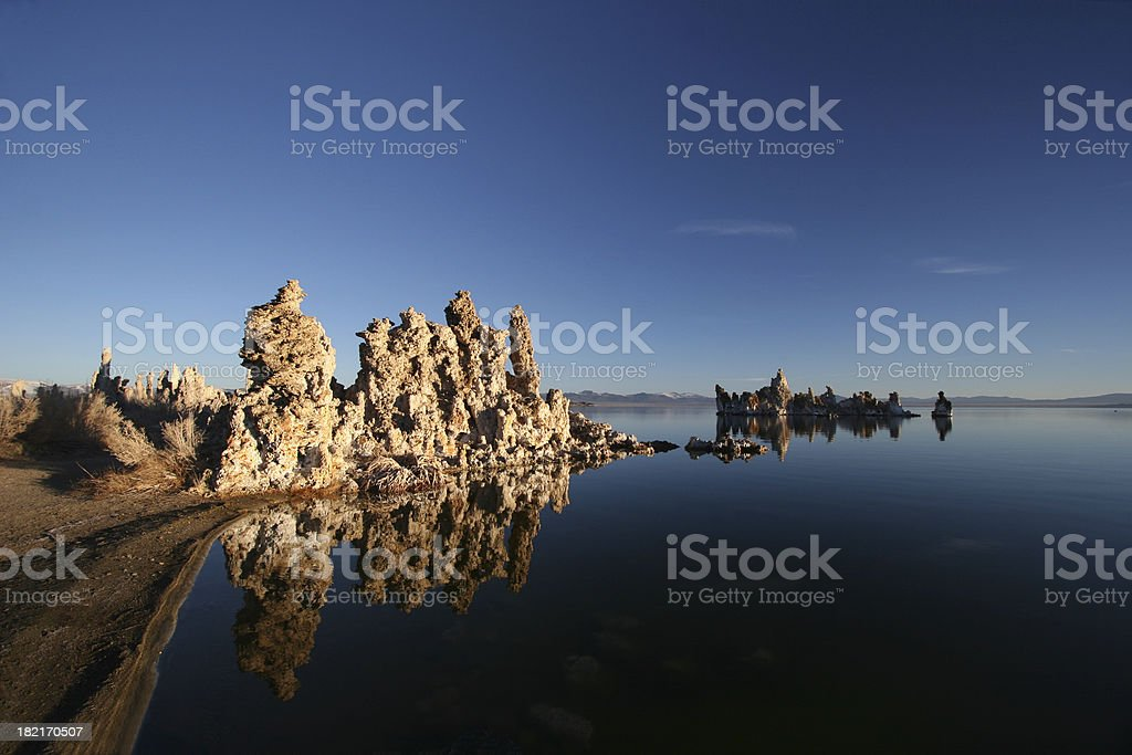 Blue Skies and  Water royalty-free stock photo