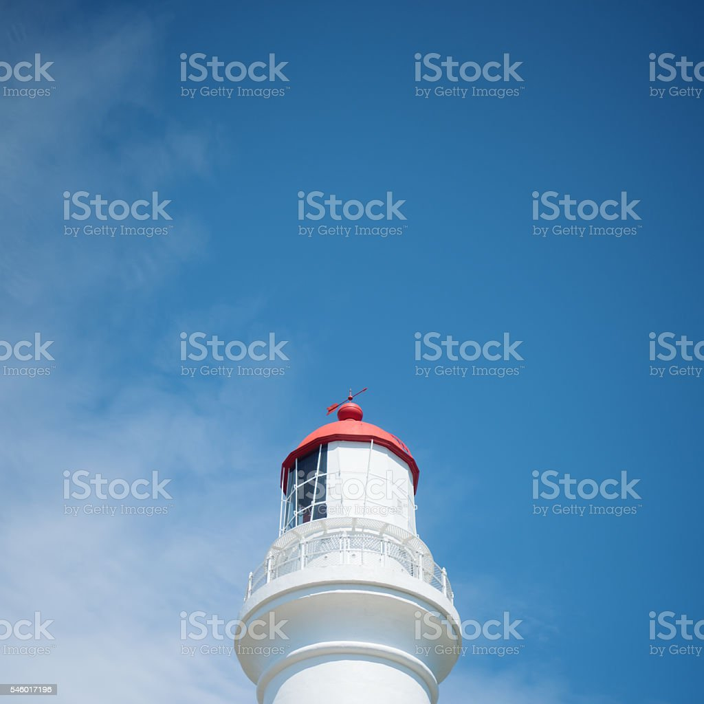 Blue Sky and a Tower stock photo