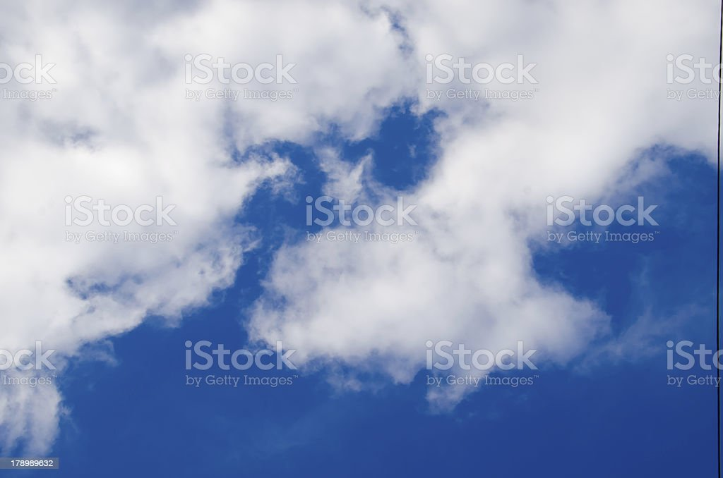 blue sky and clouds 9 XXL royalty-free stock photo