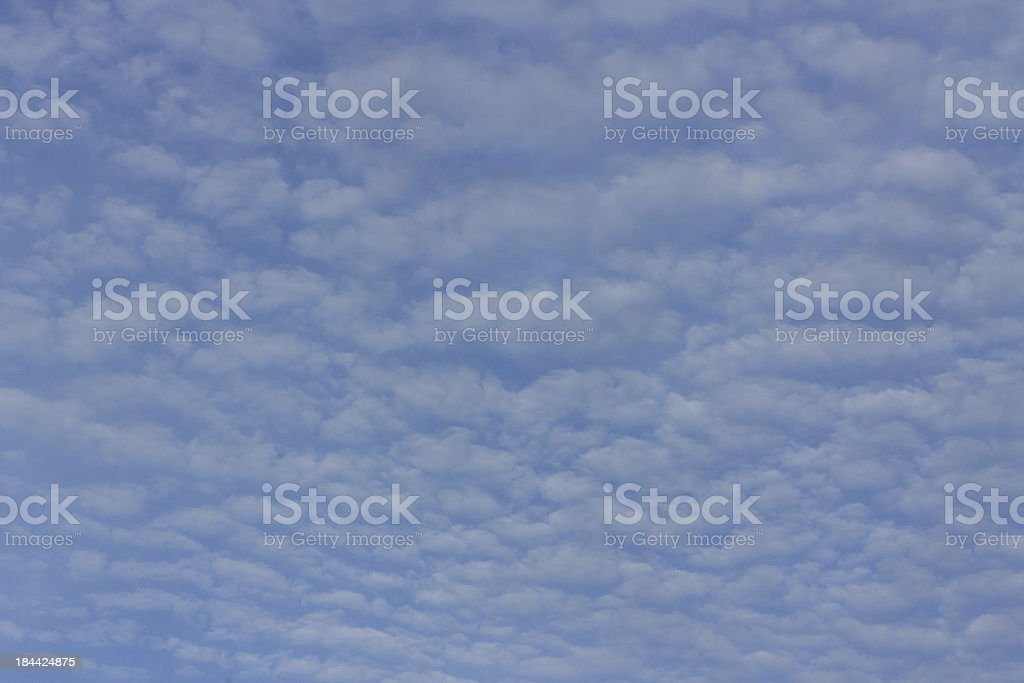 blue sky and clouds royalty-free stock photo