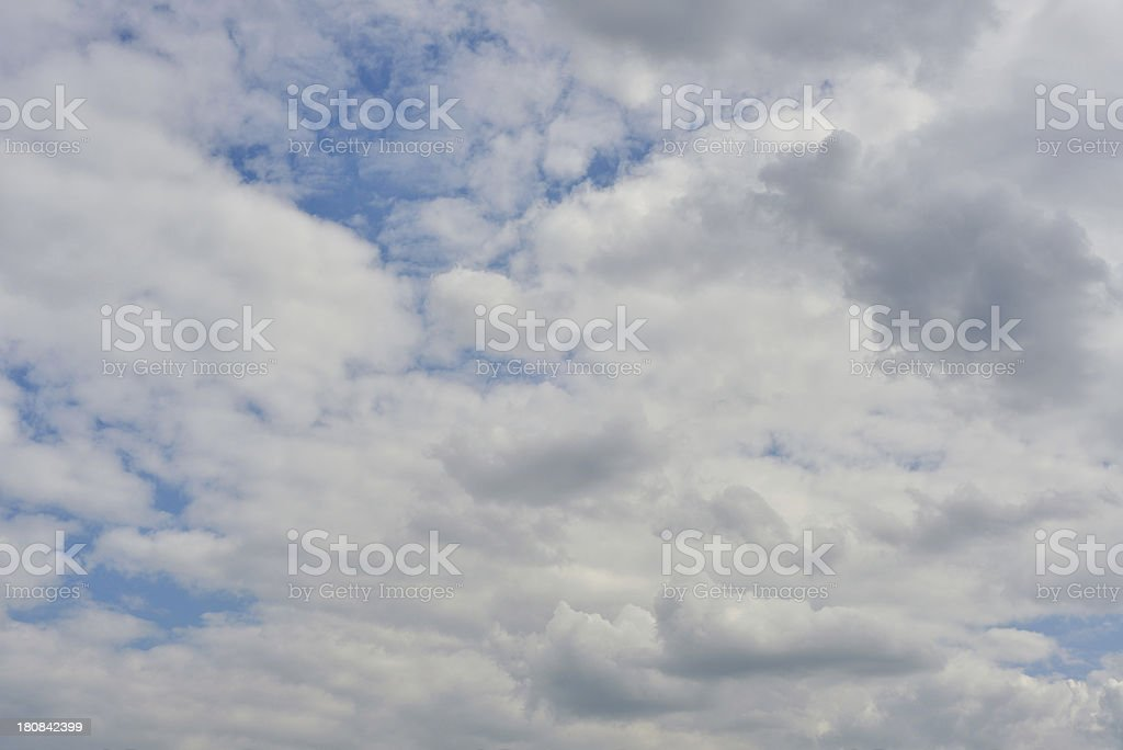 blue sky and clouds XXXL royalty-free stock photo