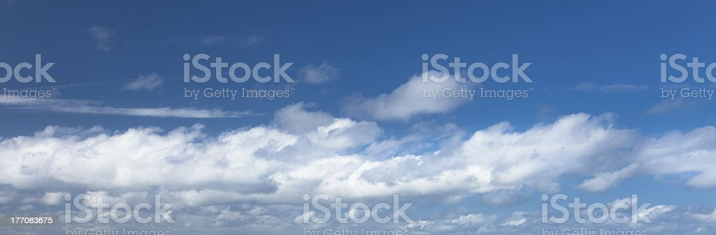 Blue Sky And Cloudscape royalty-free stock photo