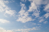 blue sky and white clouds .abstract background
