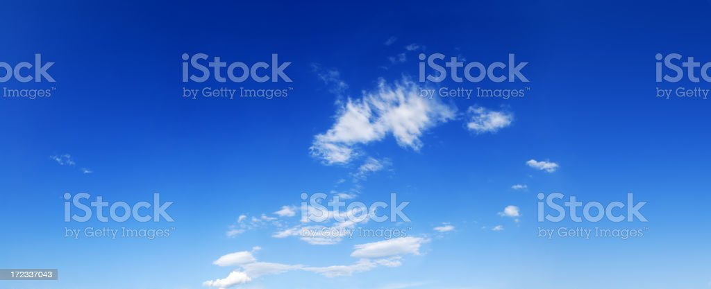 XXXL  Blue sky and white clouds, SCROLL DOWN for more royalty-free stock photo