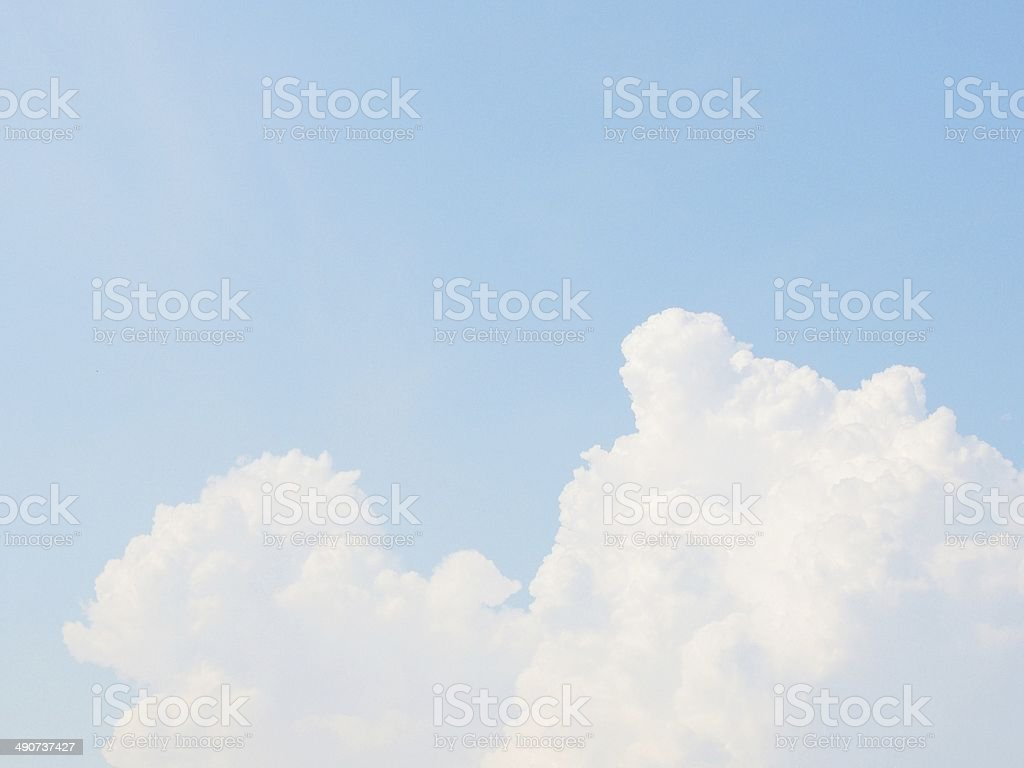 Blue Sky background royalty-free stock photo