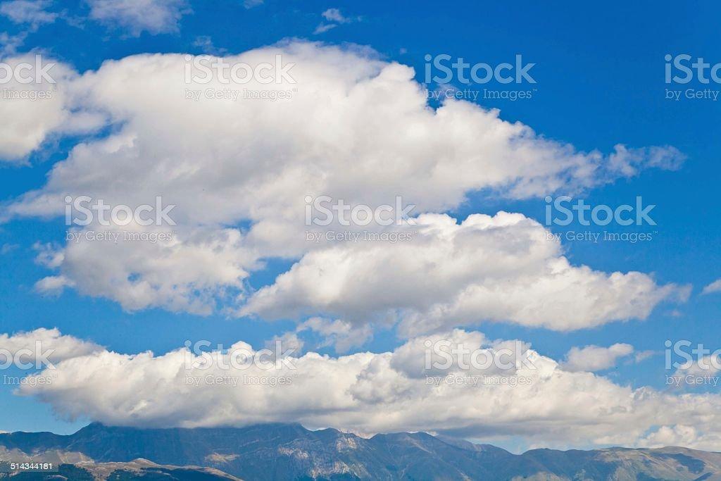 Голубой Небесный фон Стоковые фото Стоковая фотография