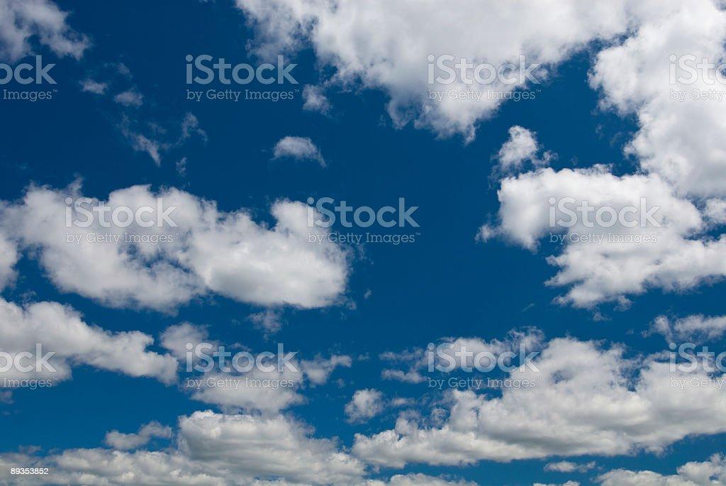 Blue Sky Background #2 royalty-free stock photo