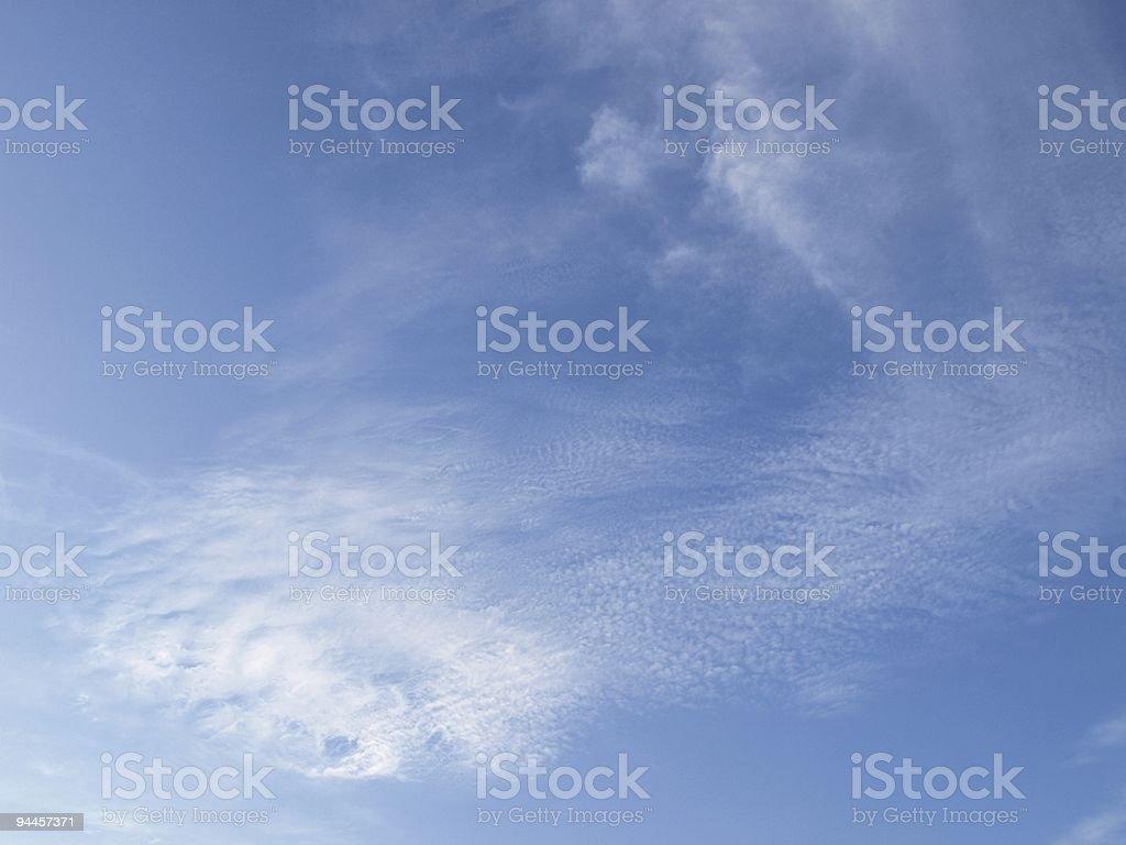 Blue sky background royalty-free stock photo