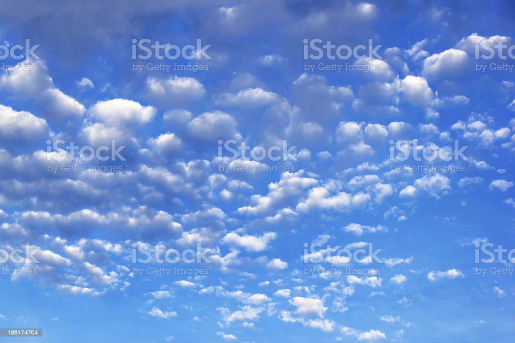 blue sky background with white clouds royalty-free stock photo