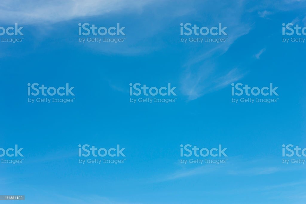 Blue sky backgrounds royalty-free stock photo