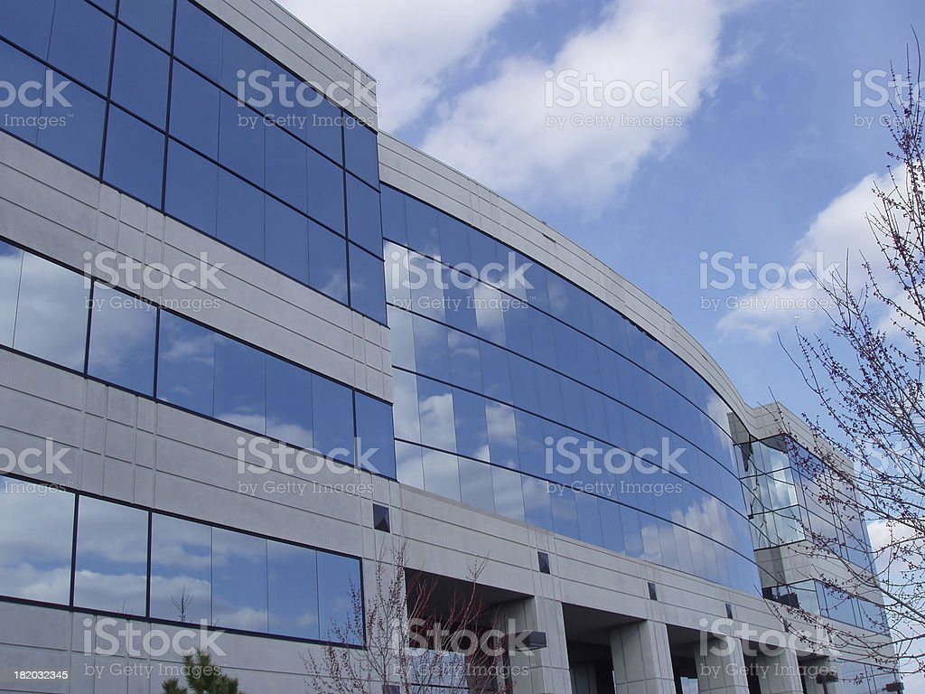 Blue Sky Building II royalty-free stock photo
