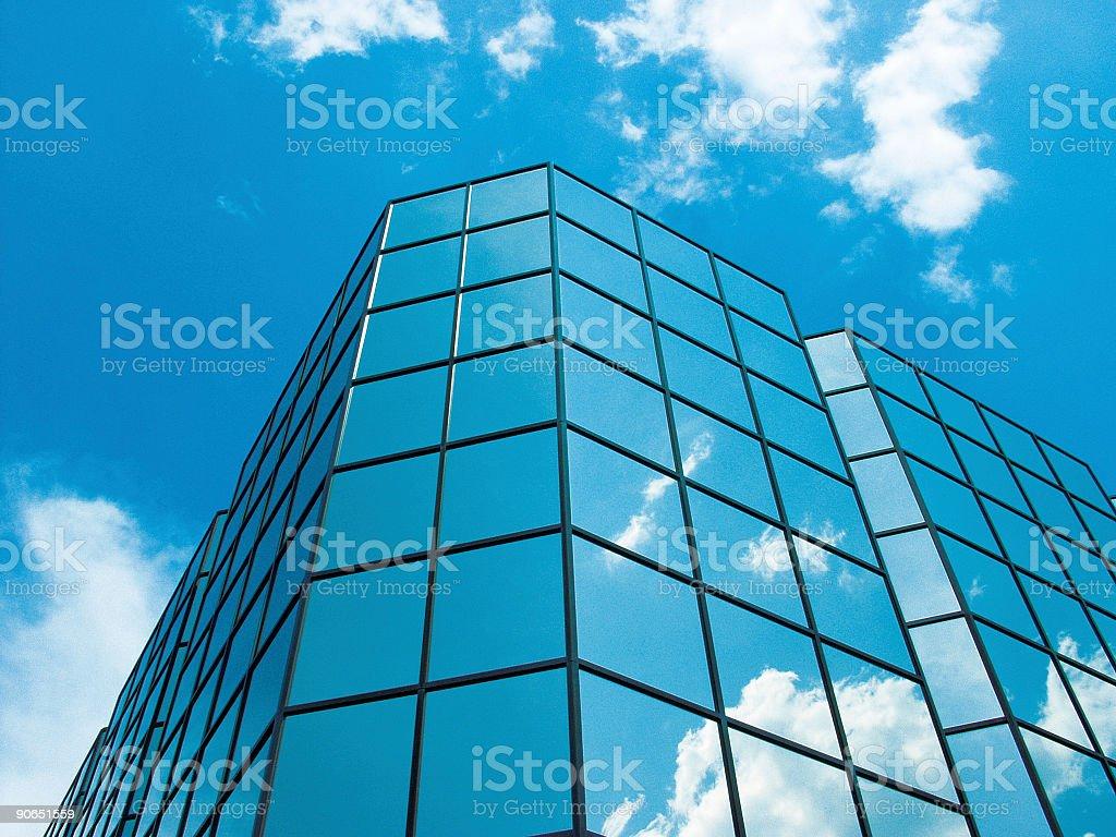 Blue Sky Building No2 royalty-free stock photo