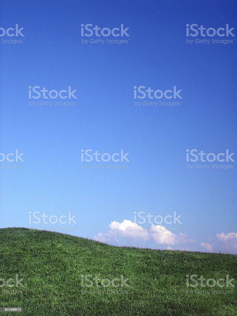 Blue Sky Day royalty-free stock photo