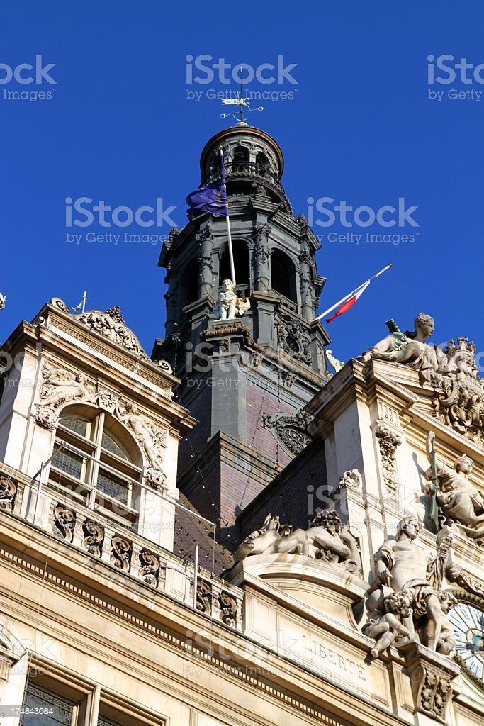 Blue Sky Governance royalty-free stock photo