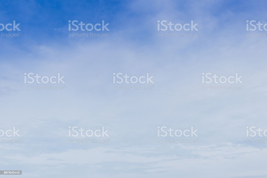 blue sky is background. stock photo