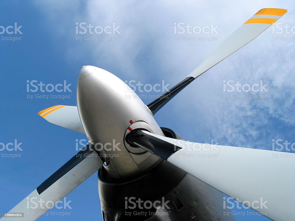 Blue sky is the limit! royalty-free stock photo