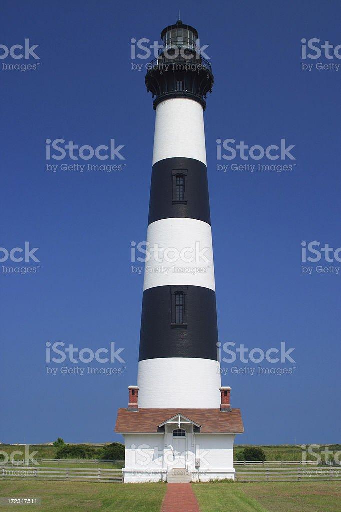 blue sky lighthouse royalty-free stock photo