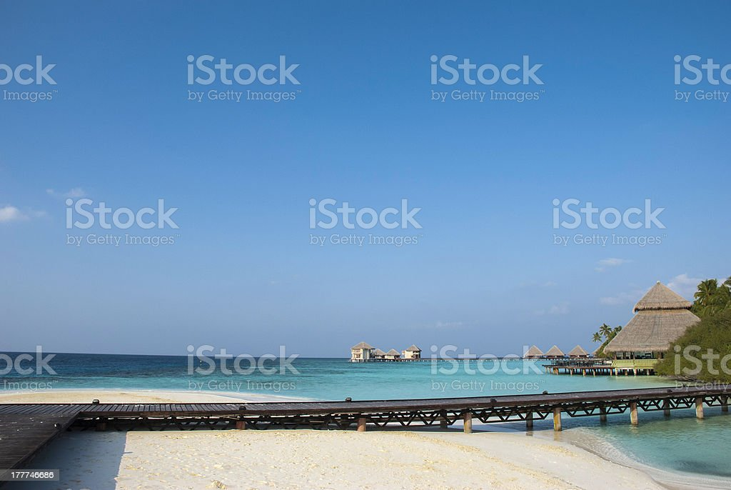 Blue Sky Paradiese royalty-free stock photo