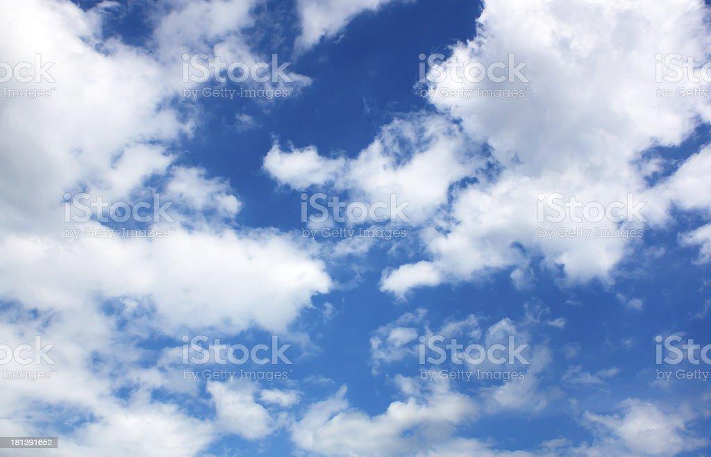 Blue sky stock photo