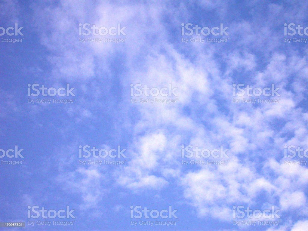 Blue Sky royalty-free stock photo