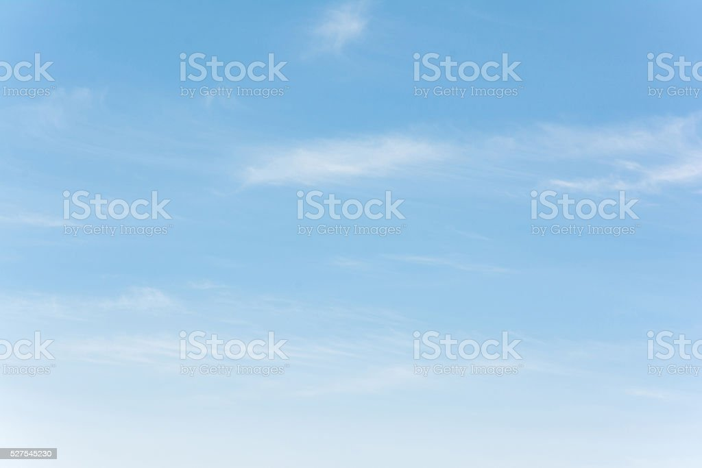 Blue sky stock photo