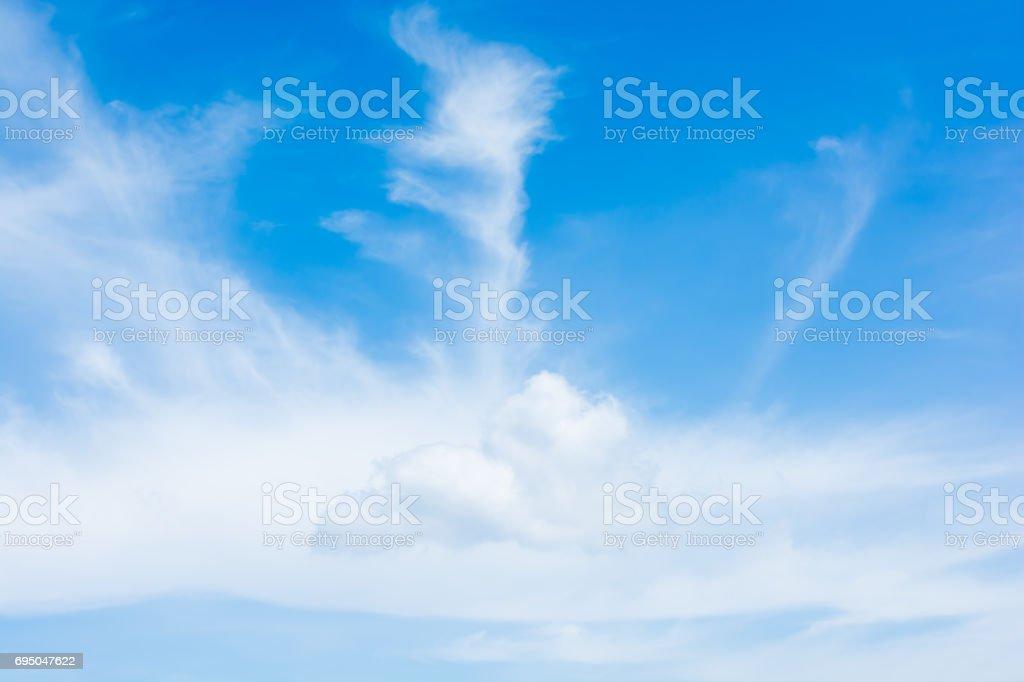 blue sky texture background stock photo