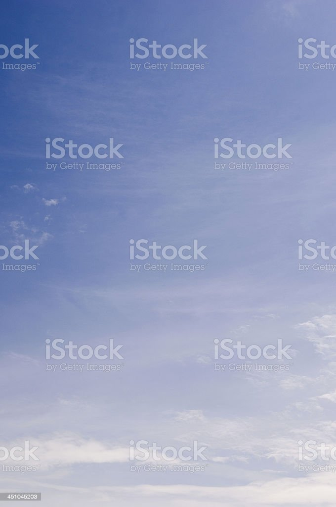 Blue Sky Thinking royalty-free stock photo