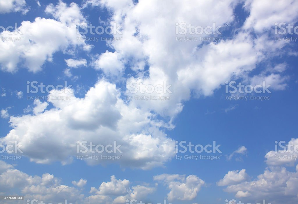 Blue Sky Weather Nature stock photo