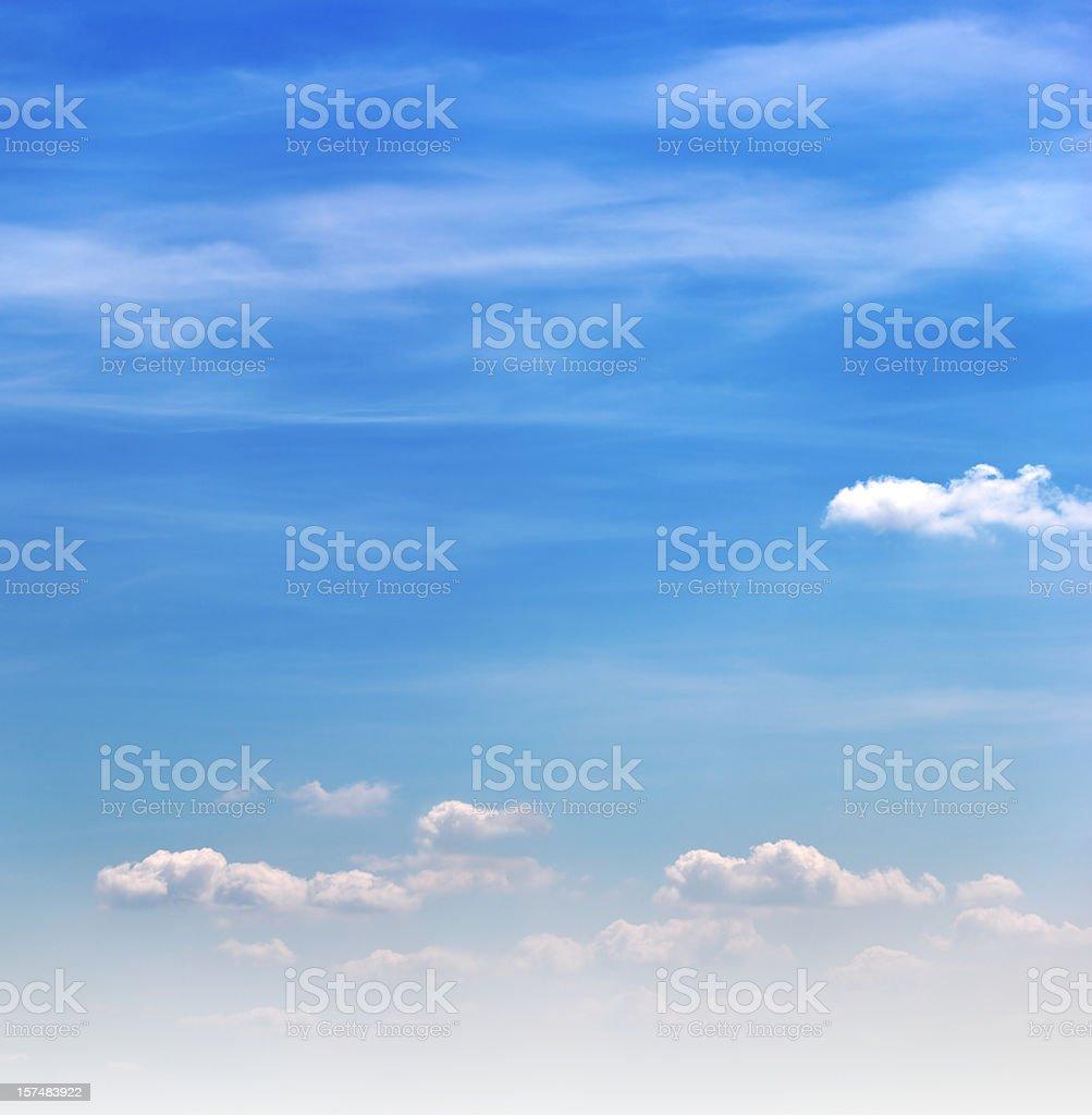 Blue Sky - XXXL size royalty-free stock photo