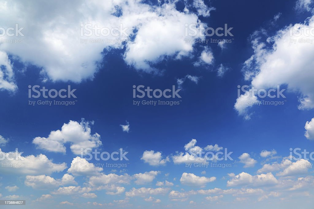 Blue Sky XXXL size royalty-free stock photo