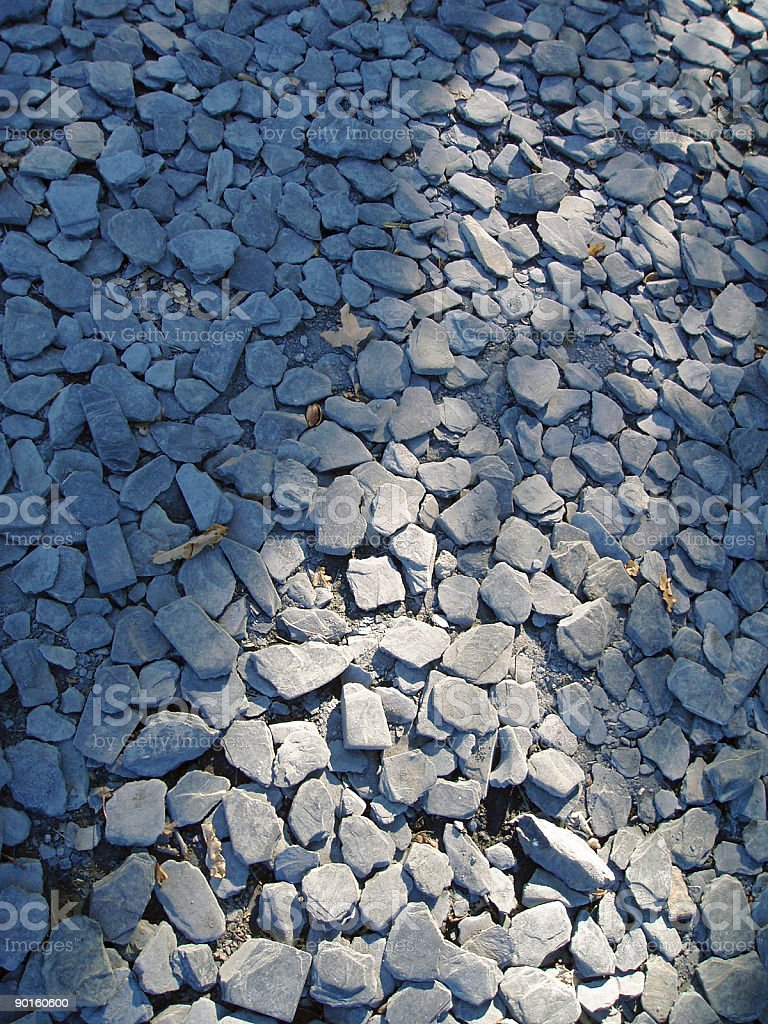 blue slates ground stock photo