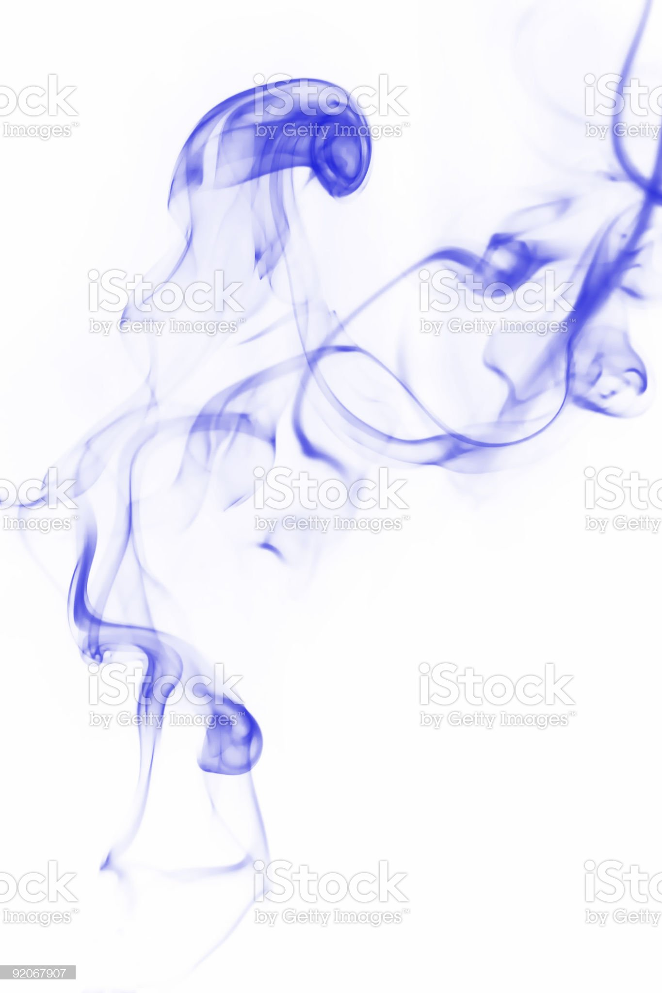 blue smoke royalty-free stock photo