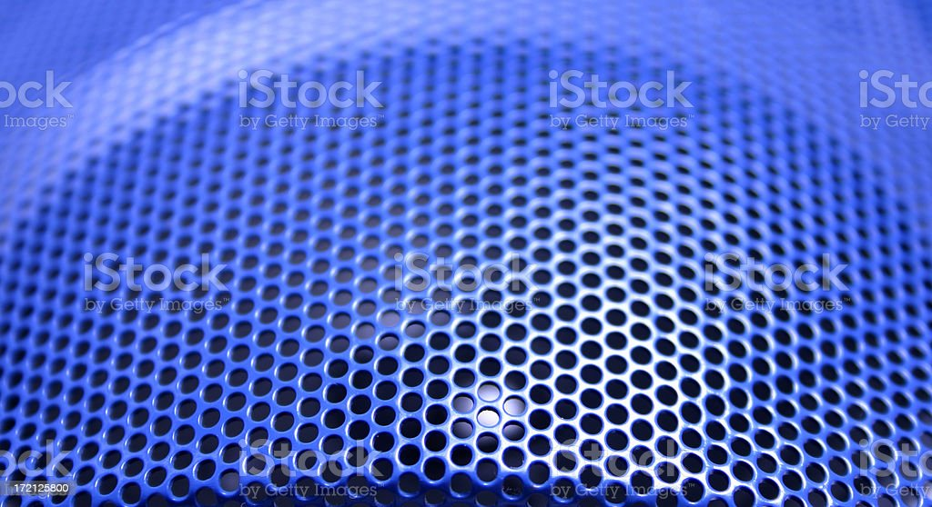 Blue Sound Abstract royalty-free stock photo