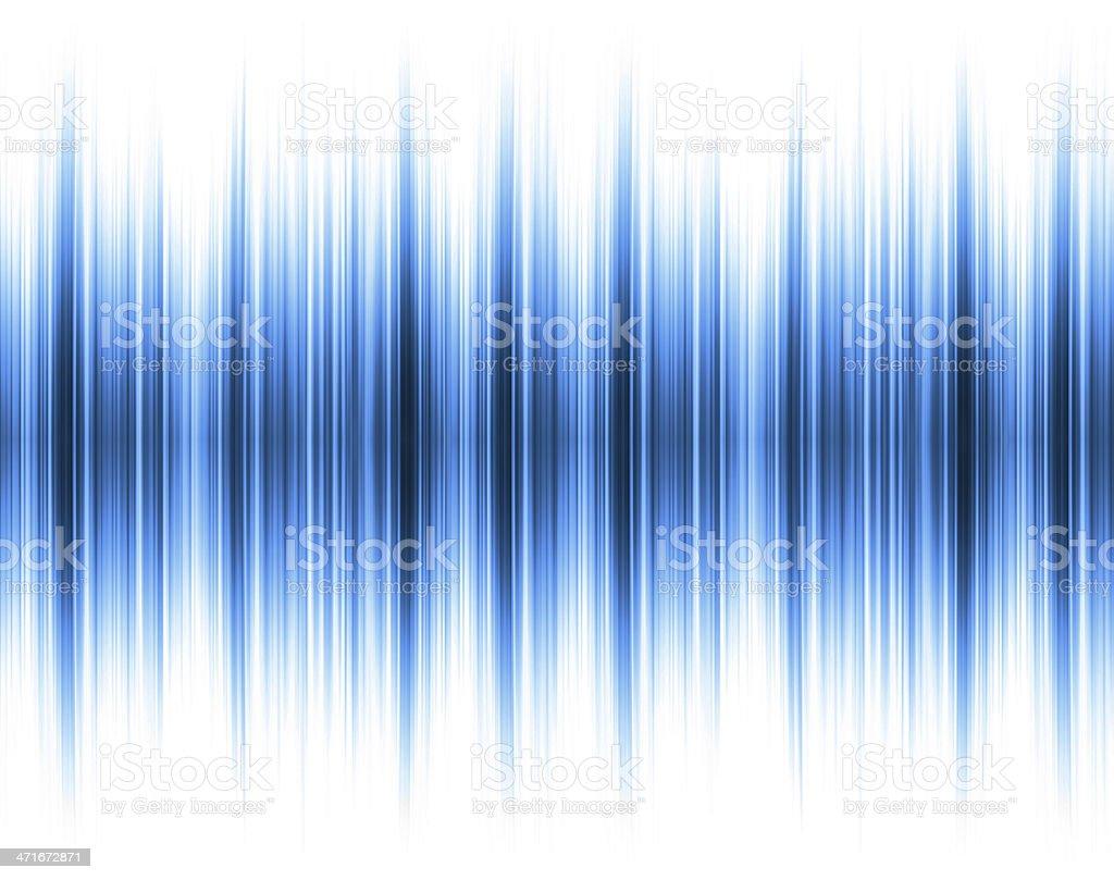 Blue Sound wave background royalty-free stock photo