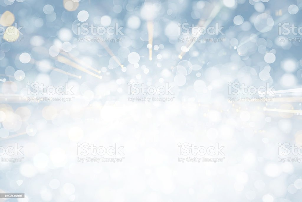 Blue Sparkles stock photo