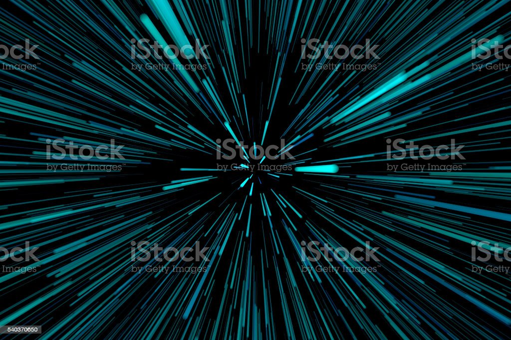 blue speed background stock photo