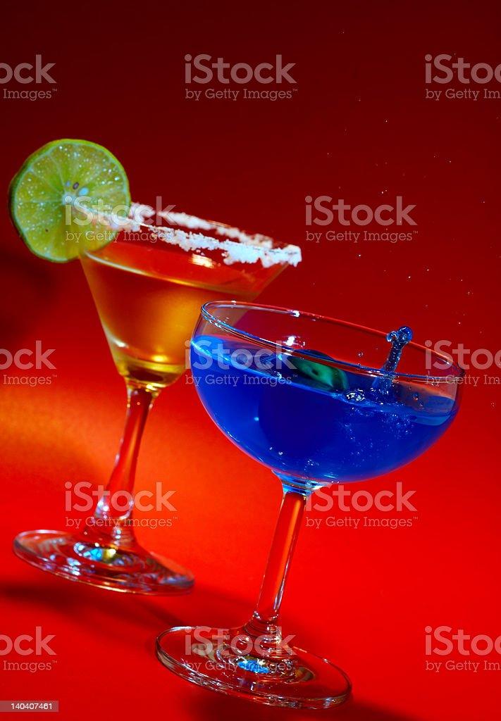 blue splash royalty-free stock photo