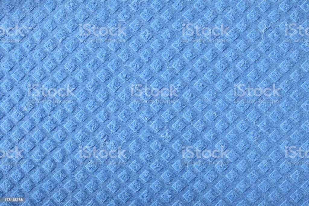 Blue sponge foam as background texture stock photo