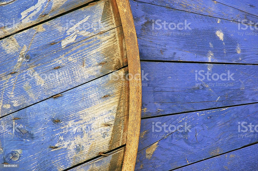 blue spool stock photo