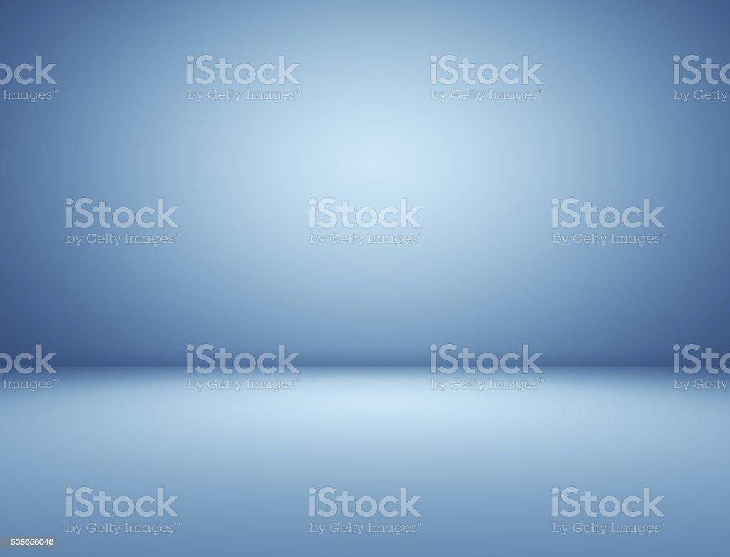 Blue spotlight background stock photo