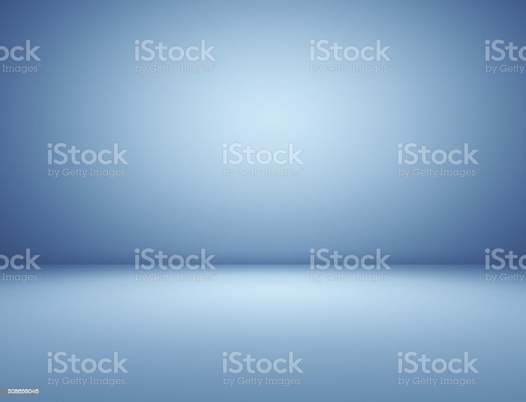 Blue spotlight background stock photo