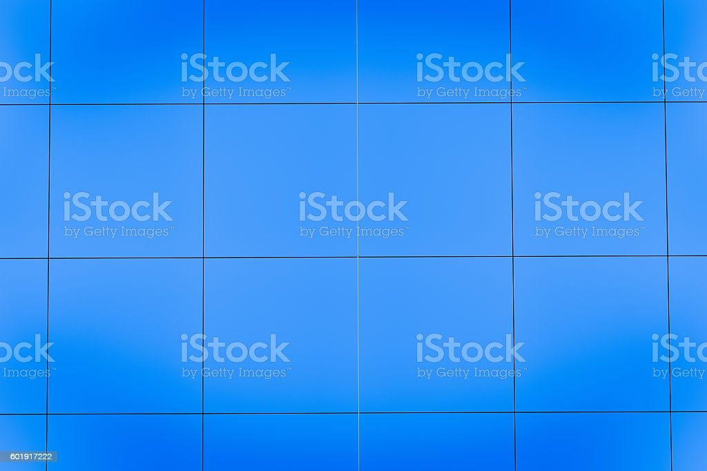 blue square background pattern design stock photo