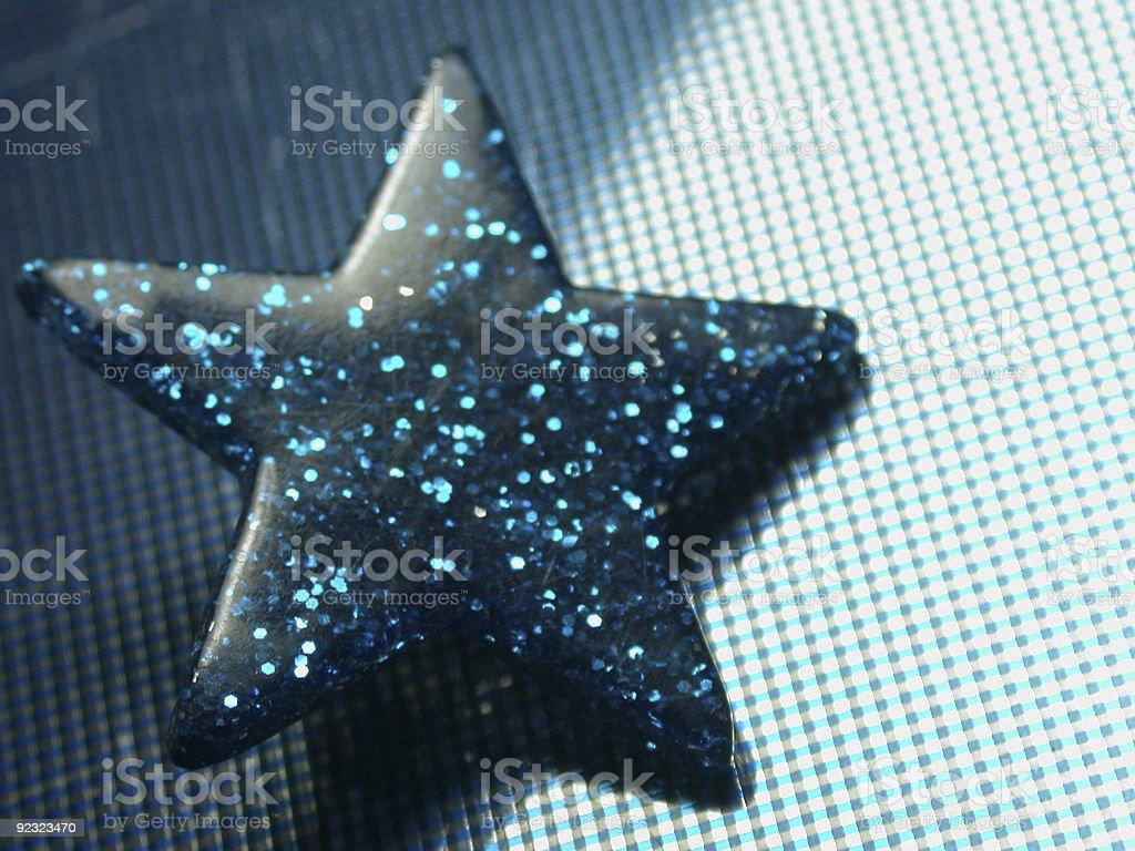 blue star stock photo