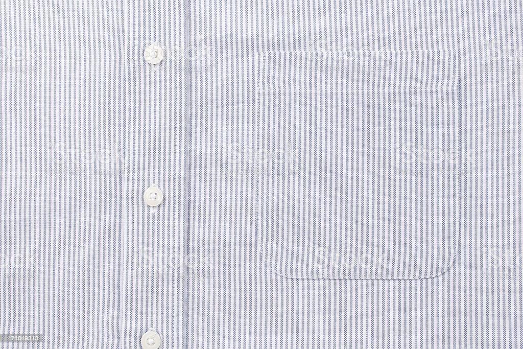 Blue Striped Shirt stock photo