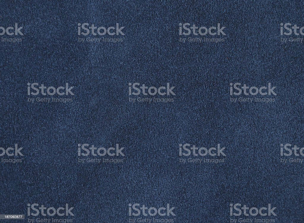 Blue suede stock photo