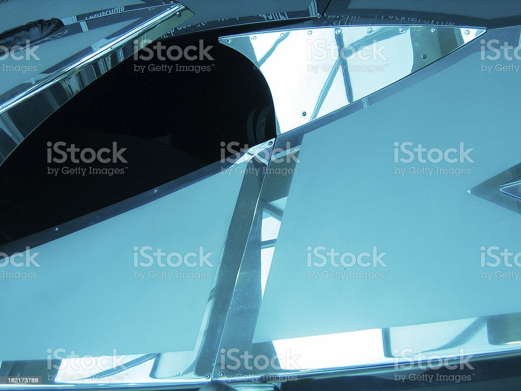 Blue surface royalty-free stock photo