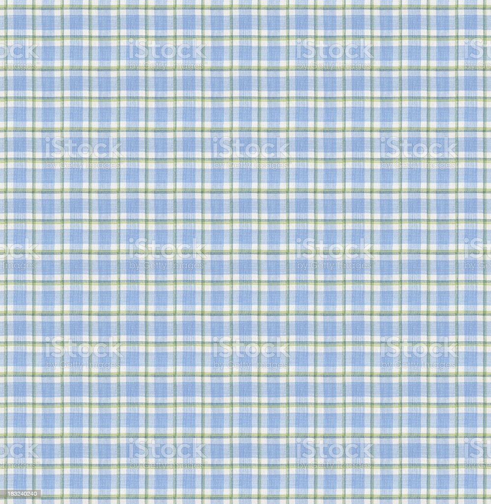 Blue Tablecloth Pattern stock photo