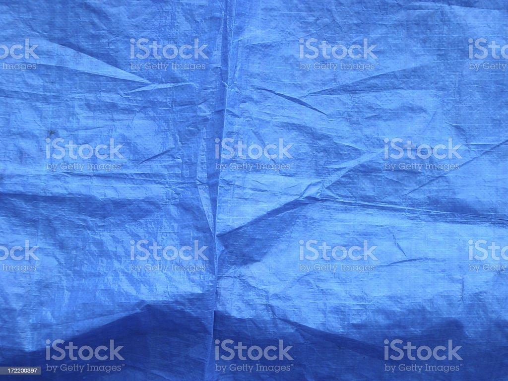 blue tarp stock photo